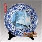 定做陶瓷纪念盘厂家 会议纪念礼品瓷盘